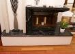 Masivni elementi od crno-bijelog mramora Nero Marquina daju modernu notu u ovoj ladanjskoj kući u Međimurju.