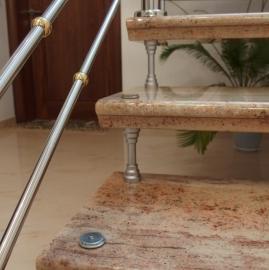 samonoseće stepenište ivory brown