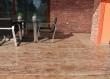U skladu sa odabirom kamena na unutarnjem stepeništu investitor je poželio koristit isti kamen na vanjskim terasama i ulaznom stepeništu.