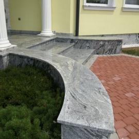 ulazno stepenište viscont white