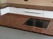 Otok kuhinje izradili smo u granitu Balmoral Red prije 15 godina. Prilikom nedavnog preuređenja kuhinje stranka se odlučila nastaviti sa istim kamenom na ostalim radnim plohama.