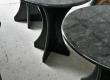Izradili smo seriju od 12 kompletnih stolova (ploča sa postoljem) od granita Volga Blue.